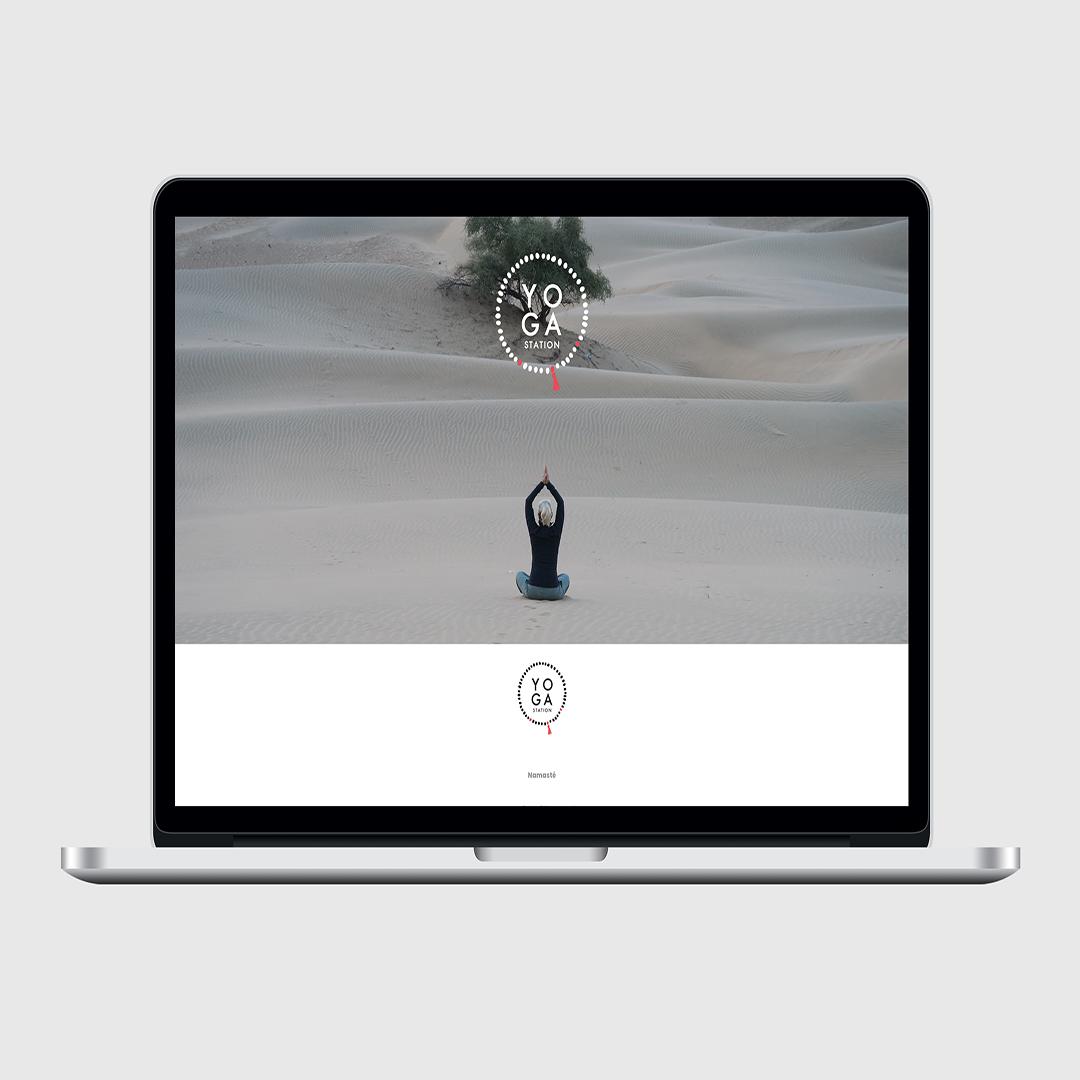 Yogastation Webseite